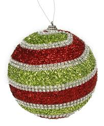diamond beaded christmas ornament u2013 paul michael company