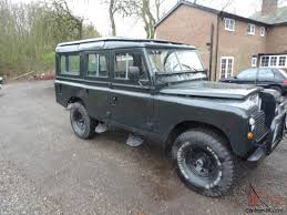 land rover series iii land rover series 3 109 lwb v8 5 door station wagon