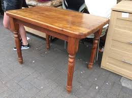 Old Pine Kitchen Table In Smithdown Road Merseyside Gumtree - Old pine kitchen tables