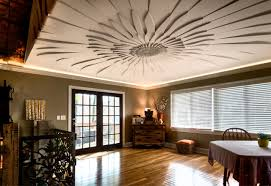 decorative ceilings decorative ceilings contemporary dining room chicago by