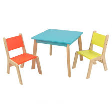 chair kidkraft fun and funky table chair set 21325 toddler dinner
