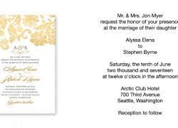 how to write a wedding invitation wedding invitations sle designs cloveranddot