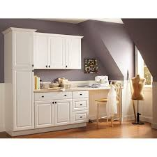 Narrow Depth Storage Cabinet 84 Creative Remarkable White Kitchen Cabinets Home Depot Stock