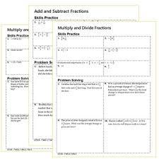 numbers homework practice worksheets skills practice u0026 word problems