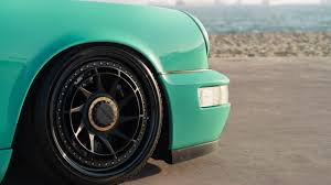 rotiform porsche 964 this mint green porsche 964 is unlike anything you u0027ve seen airows