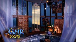 harry potter asmr ambience ravenclaw tower common room magical