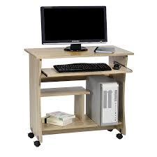 Schreibtisch Mit Computer Computertisch Schreibtisch Pc Tisch Rezi In Sonoma Eiche Mit