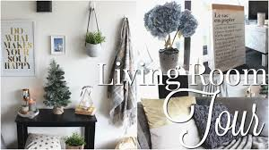 Hm Home Decor by Home Tour Part Two Living Room Room Decor Inspiration Youtube