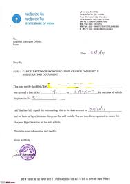 Certification Letter For Address Proof Article Rto Hypothecation Removal Process Step By Step Guide