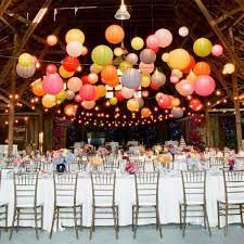 led lights for paper lanterns hanging ceiling decor wedding bar bat mitzvah party trend