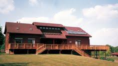 have it all in the 1 1 2 story flat rock log home design generous