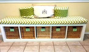 Bench Seat Cushion Storage Bench With Cushion Ikea Outdoor Storage Bench Seat Perth