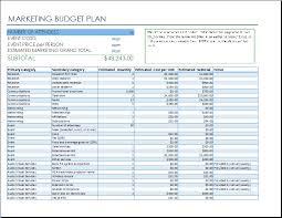 Event Budget Template Excel Marketing Event Budget Template Event Budget