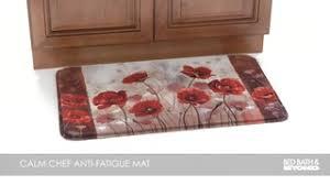Poppy Kitchen Rug Bed Bath Beyond Tv Calm Chef Floor Mat