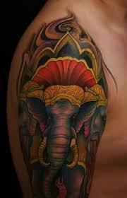 beautiful elephant head tattoo design tattoos book