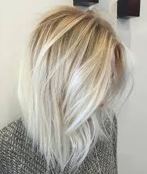 platinum hairstyles with some brown best 25 shoulder length blonde ideas on pinterest shoulder
