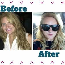 hair color put your picture blonde hair without the salon helene in between