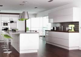 white gloss kitchen ideas white gloss kitchens black worktops deductour