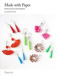 quilling earrings tutorial pdf free download diy paper quilled jewelry tutorial paper quilled cone bead