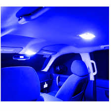 home interior led lights 11x blue interior led package kit dome map lamp plate for nissan