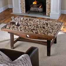 coffee table wooden barrel coffee table throughout astonishing
