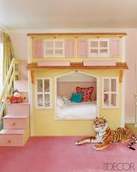 Cottage Loft Bed Plans by Kids Room Cute Bedroom With A Cottage Style Bunk Bed Also
