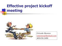 effective project kickoff meeting