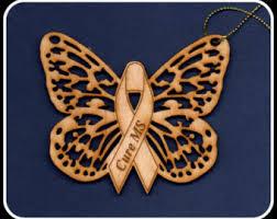 butterfly ornament etsy
