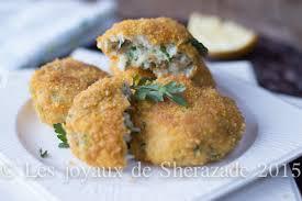 cuisiner poisson blanc croquettes de poisson blanc les joyaux de sherazade