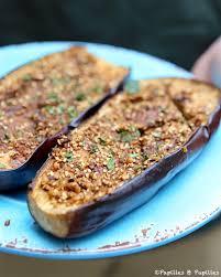 cuisiner les aubergines au four aubergines au four à la dukkah