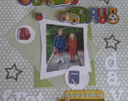 personalized scrapbook custom scrapbook etsy