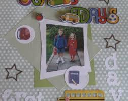 personalized scrapbook baby girl album etsy