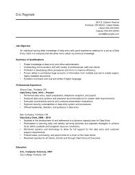 data entry resume resume sle for data entry operator and clerk free vinodomia