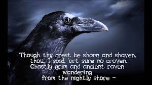 Famous Halloween Poems The Raven Christopher Lee Youtube