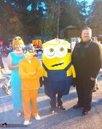 Tina Halloween Costume Despicable Characters Family Halloween Costume