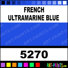 french ultramarine blue colors watercolor paints 5270 french