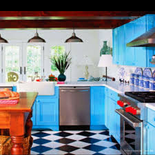 Bright Colored Kitchens - 62 best checkered floors images on pinterest checkered floors