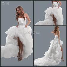 sell sweetheart empire wedding dress 2015 hi low bridal