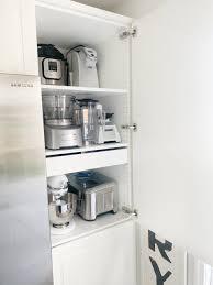 kitchen appliance storage cabinet small kitchen appliance storage dreaming of homemaking