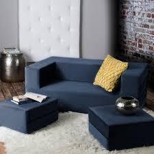 Loveseat Convertible Bed Jaxx Zipline Convertible Sleeper Loveseat And Ottomans Queen Size
