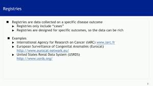 data registries health information systems registries routine and