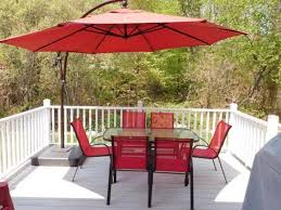 11 Ft Offset Patio Umbrella Hton Bay 11 Ft Offset Patio Umbrella Probably Patio Umbrellas