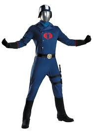 Deluxe Cobra Commander Costume Halloween Costumes