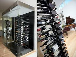 cabinet mount wine cooler luxury wine cellar with floor to ceiling mounted floating wine racks