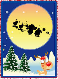 free christmas cards santa claus christmas invitations