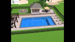 Cabana Ideas by Rectangle Pool Design Pool Pinterest Rectangle Pool Pool