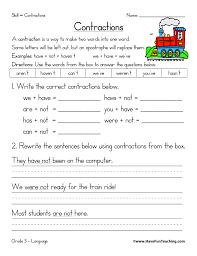 contractions worksheet contractions worksheets have fun teaching