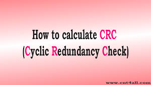 10 ethernet how to calculate crc cyclic redundancy check