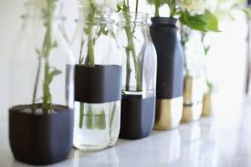 Diy Plastic Bottle Vase Diy Color Block Vases Song Of Style