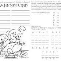 free printable thanksgiving coloring pages activities